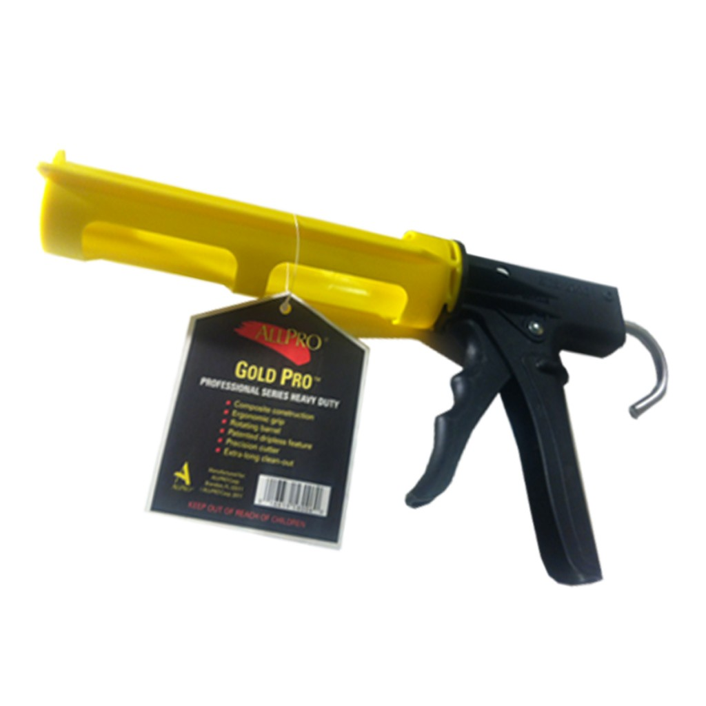ergonomic caulk gun