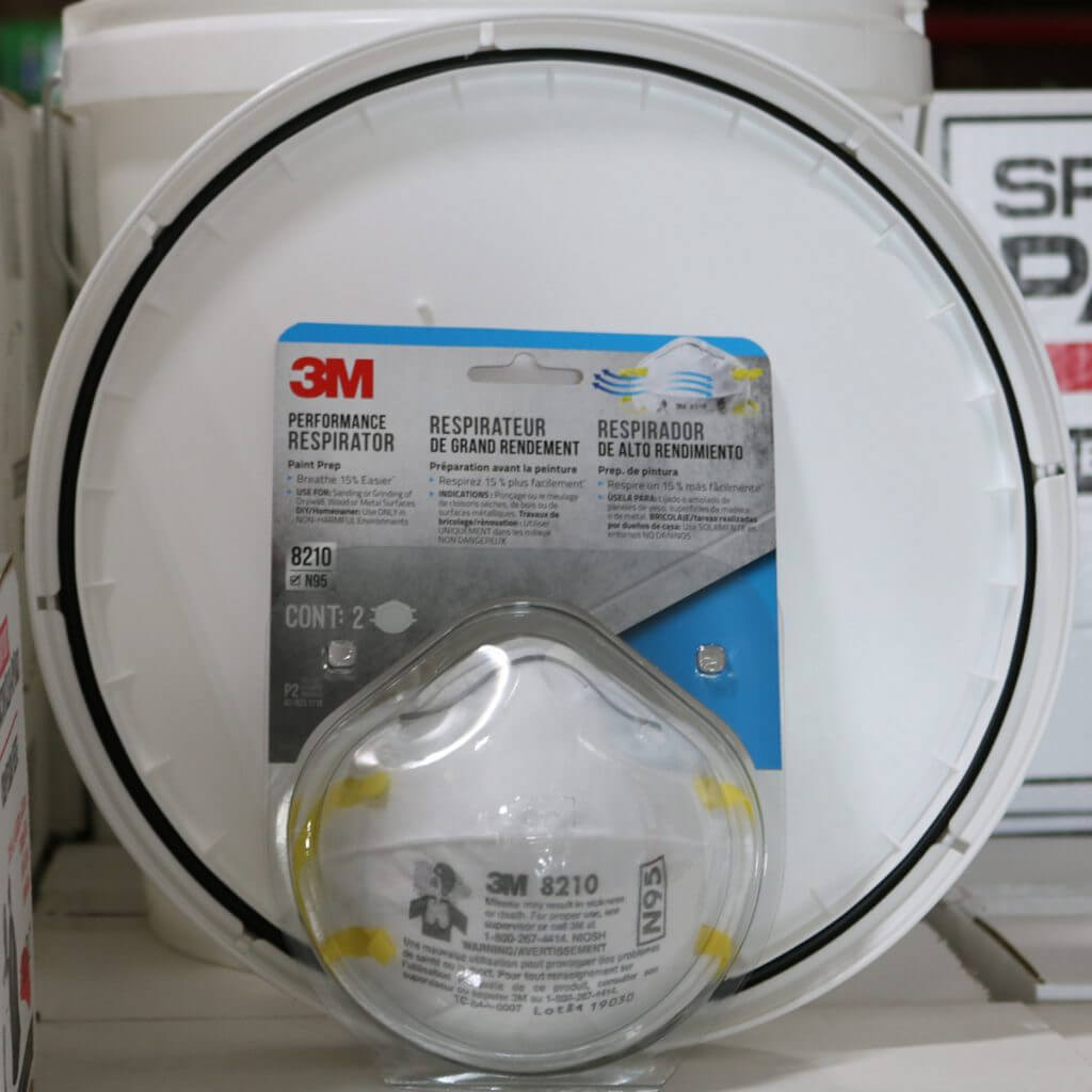 3-M 8210PA1-A 8210 Respirators 2-pack