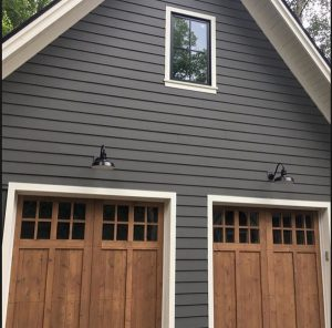 Home exterior in Kendall Charcoal