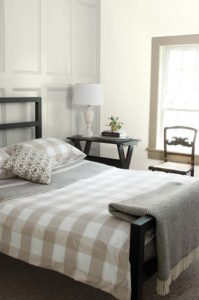 farmhouse meets modern craftsman bedroom