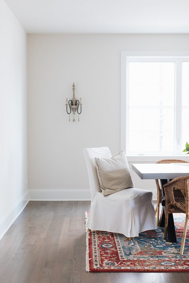 Classic Gray Dining Room
