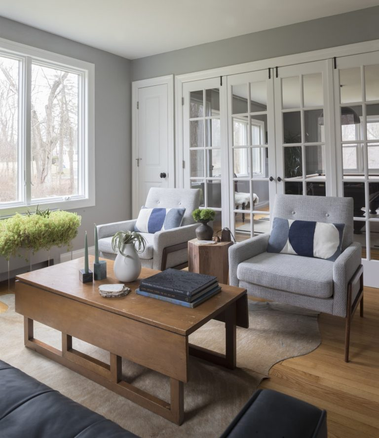 Coventry Gray Sitting Area