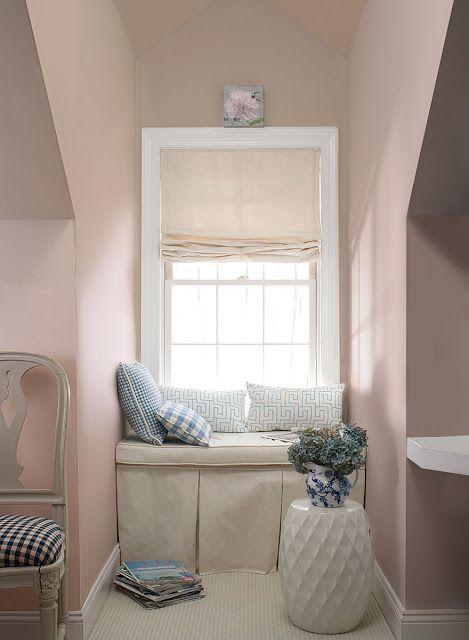 Raleigh Peach Window Seat